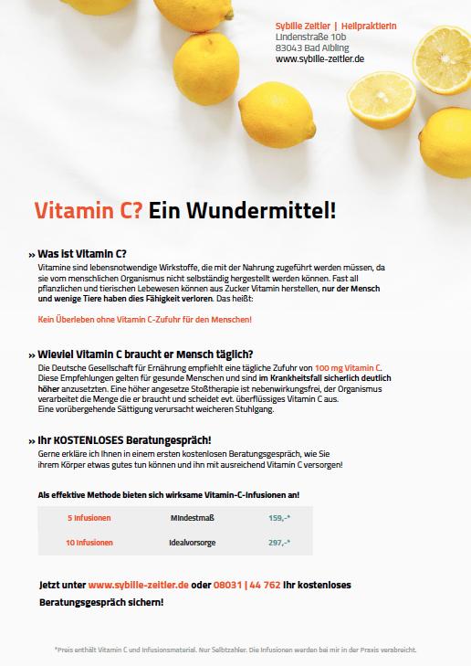 Vitamin-C-Infusionen